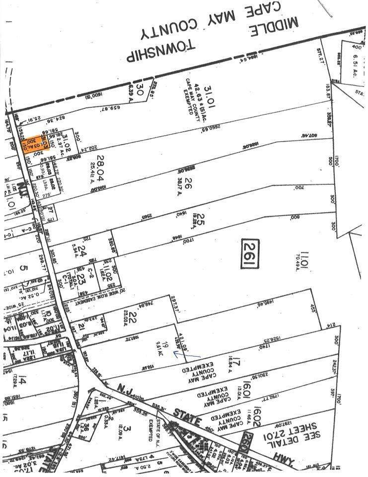 Land for Sale at 1877 Route 9 North Clermont, New Jersey 08210 United States
