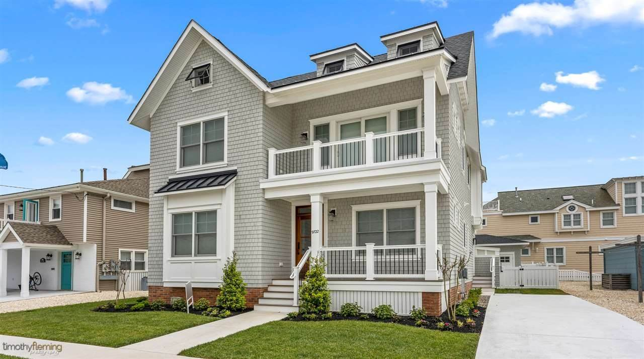 Single Family Homes for Sale at 9722 First Avenue Stone Harbor, New Jersey 08247 United States