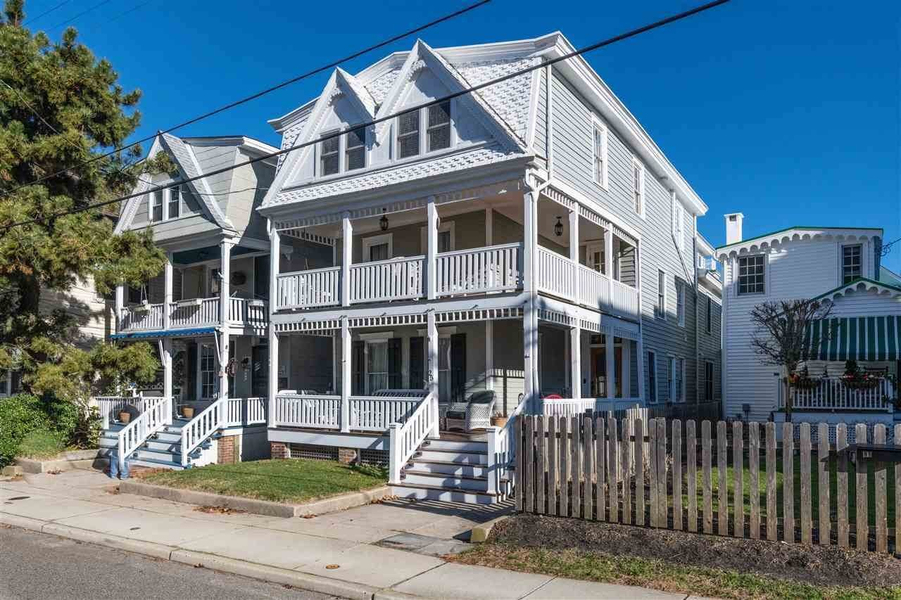 Single Family Homes por un Venta en 25 Windsor Avenue Cape May, Nueva Jersey 08204 Estados Unidos