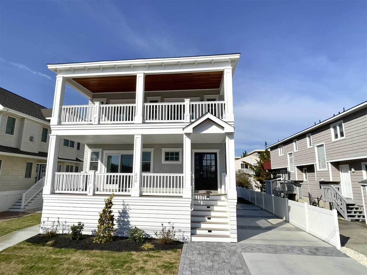 Single Family Homes for Sale at 230 82nd Street Stone Harbor, New Jersey 08247 United States