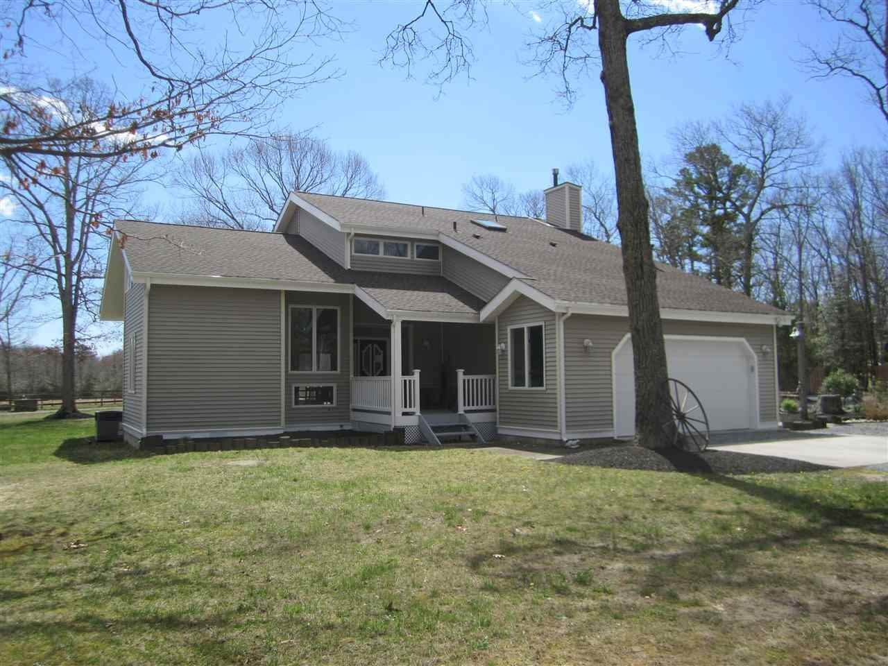 Single Family Homes pour l Vente à 528 Corson Tavern Road Ocean View, New Jersey 08230 États-Unis