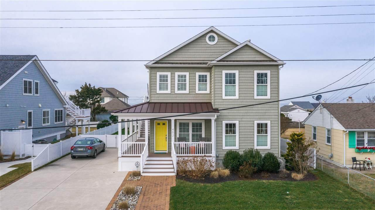 Single Family Homes for Sale at 402 Atlantic Avenue North Cape May, New Jersey 08204 United States