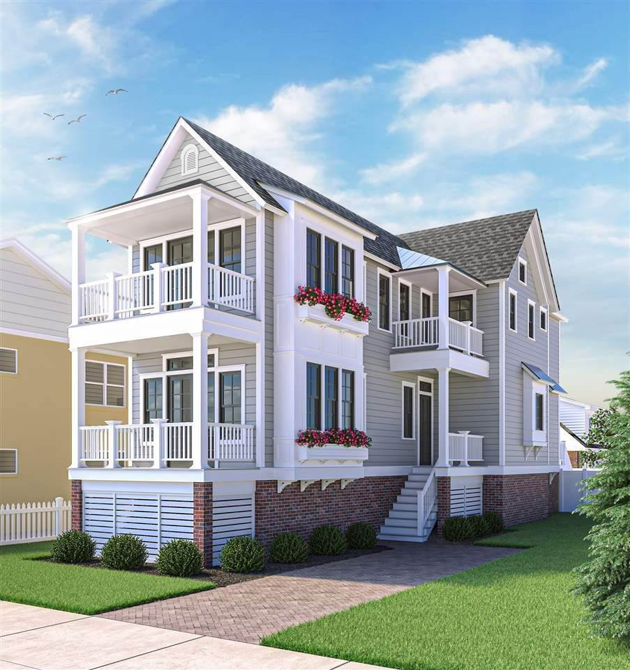 Single Family Homes for Sale at 329 93rd Street Stone Harbor, New Jersey 08247 United States