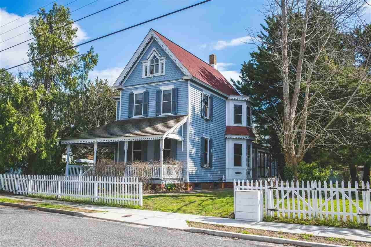 Single Family Homes por un Venta en 122 Eldredge Avenue West Cape May, Nueva Jersey 08204 Estados Unidos