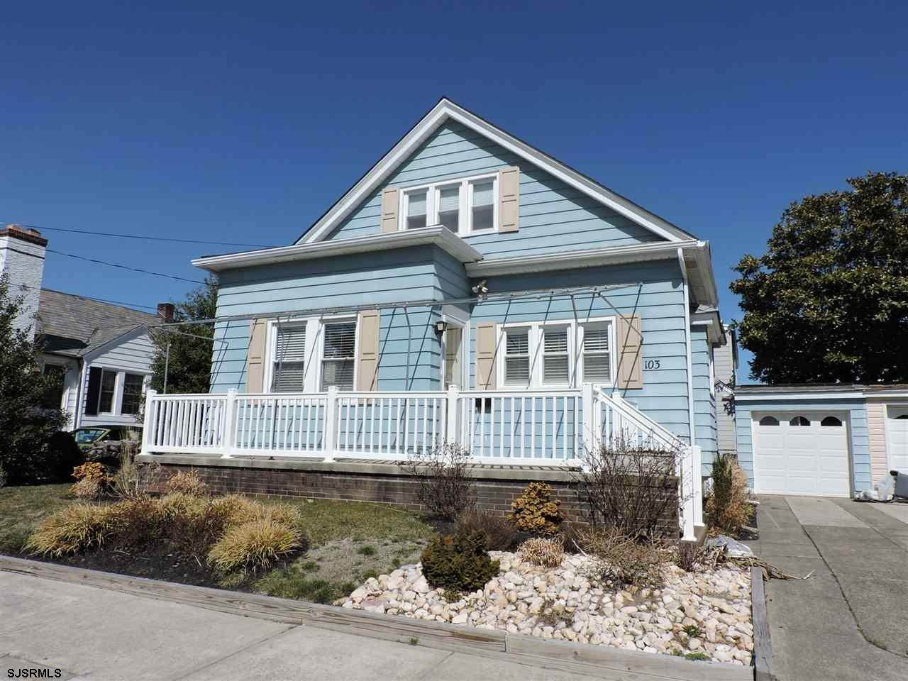 Single Family Homes at 103 N Essex Ave Margate City Margate, New Jersey 08402 United States