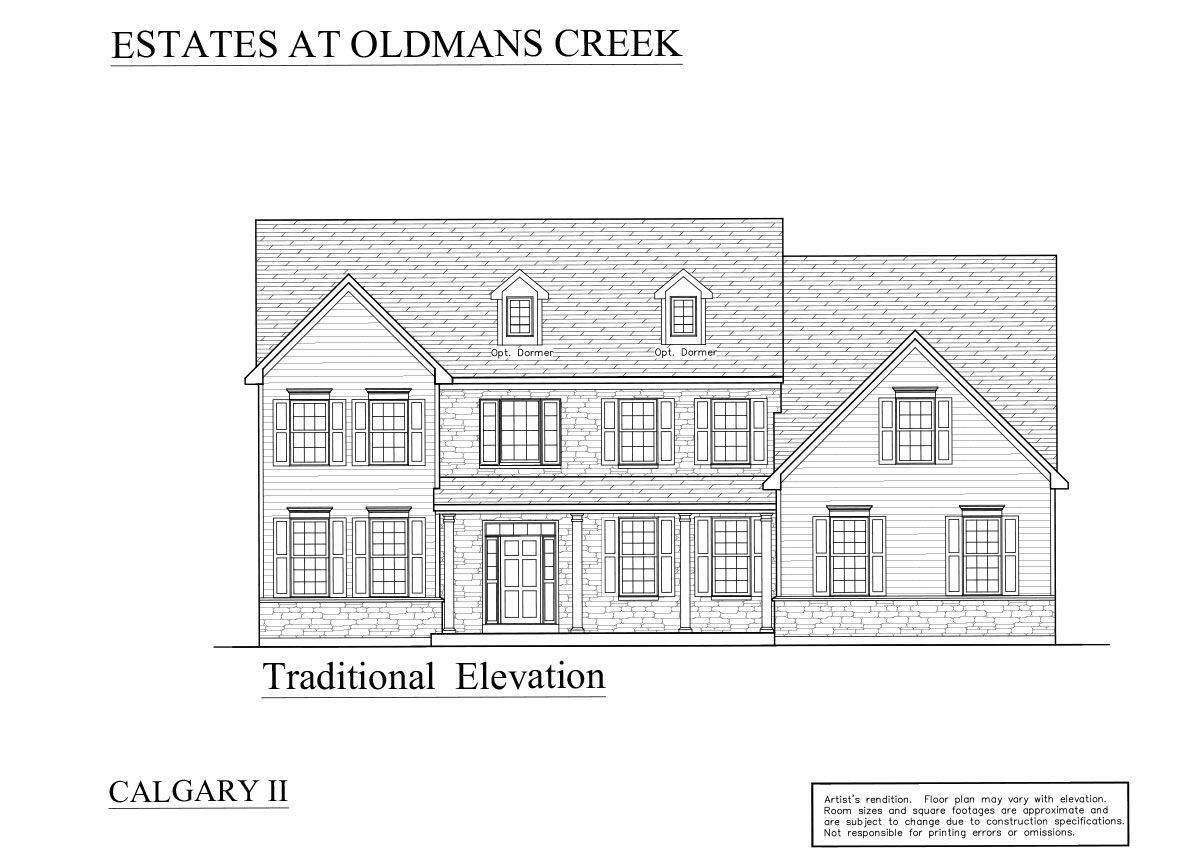 Single Family for Sale at The Estates At Oldman's Creek - Calgary 65 Pedricktown Woodstown Rd PEDRICKTOWN, NEW JERSEY 08067 UNITED STATES