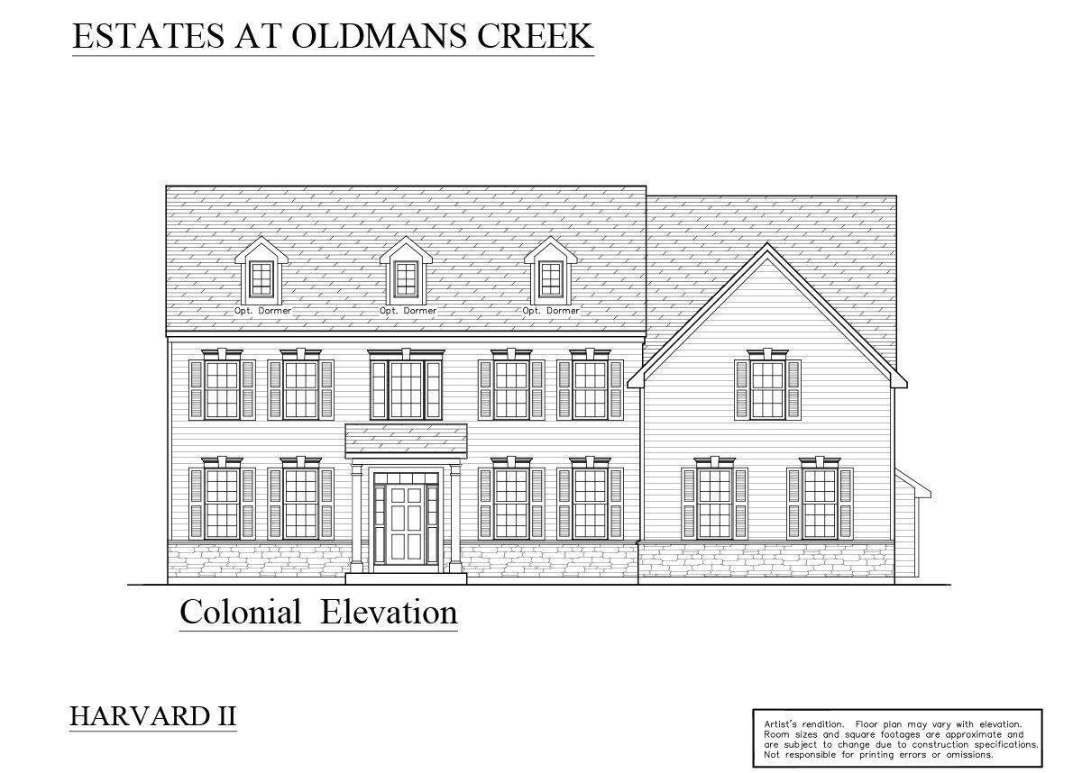 Single Family for Sale at The Estates At Oldman's Creek - Harvard Ii 65 Pedricktown Woodstown Rd PEDRICKTOWN, NEW JERSEY 08067 UNITED STATES