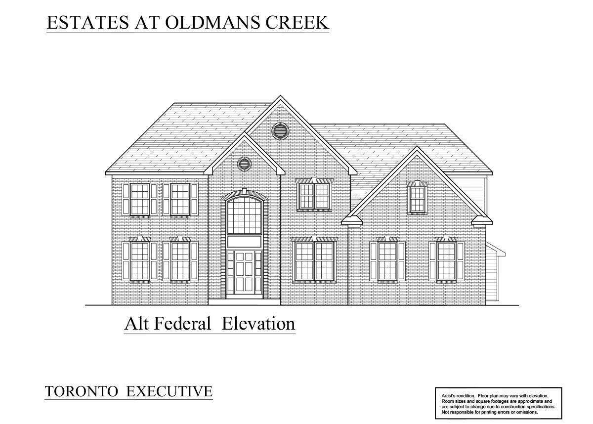 Single Family for Sale at The Estates At Oldman's Creek - Toronto Executive 65 Pedricktown Woodstown Rd PEDRICKTOWN, NEW JERSEY 08067 UNITED STATES