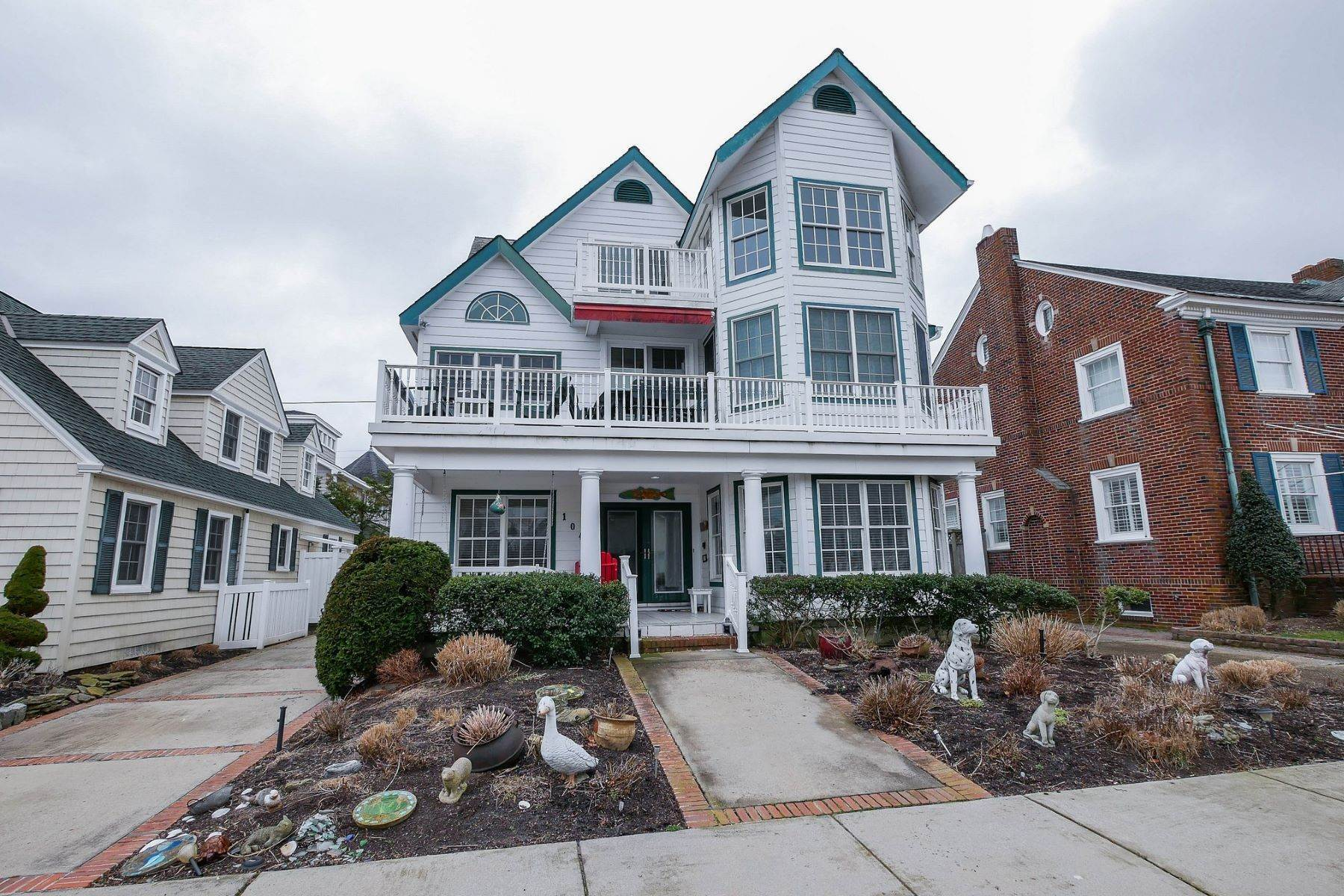 Single Family Homes por un Venta en 104 S Rumson Ave Margate, Nueva Jersey 08402 Estados Unidos