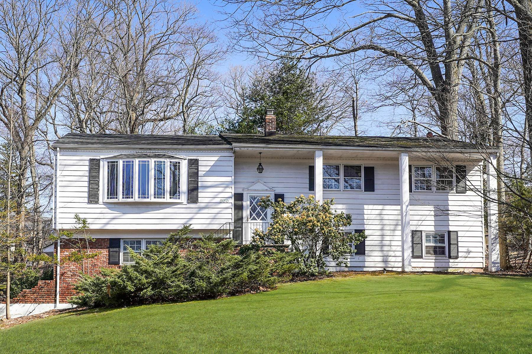 Single Family Homes for Sale at Classically Styled Raised Ranch 500 Summit Road Mountainside, New Jersey 07092 United States