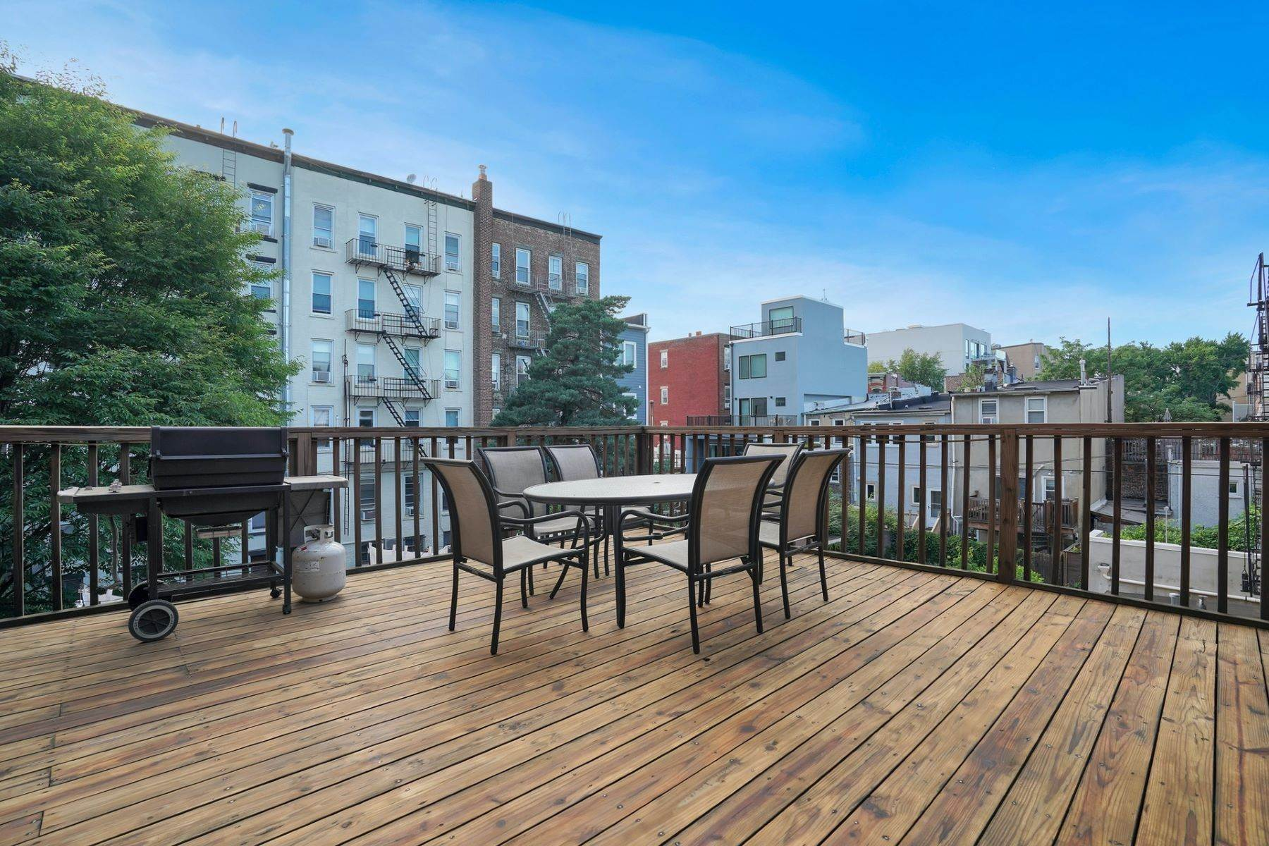 Condominiums at YOUR DREAM HOME. Large Deck and Two Bedrooms Beautiful Condo. 626 Park Avenue, Unit 2 Hoboken, New Jersey 07030 United States