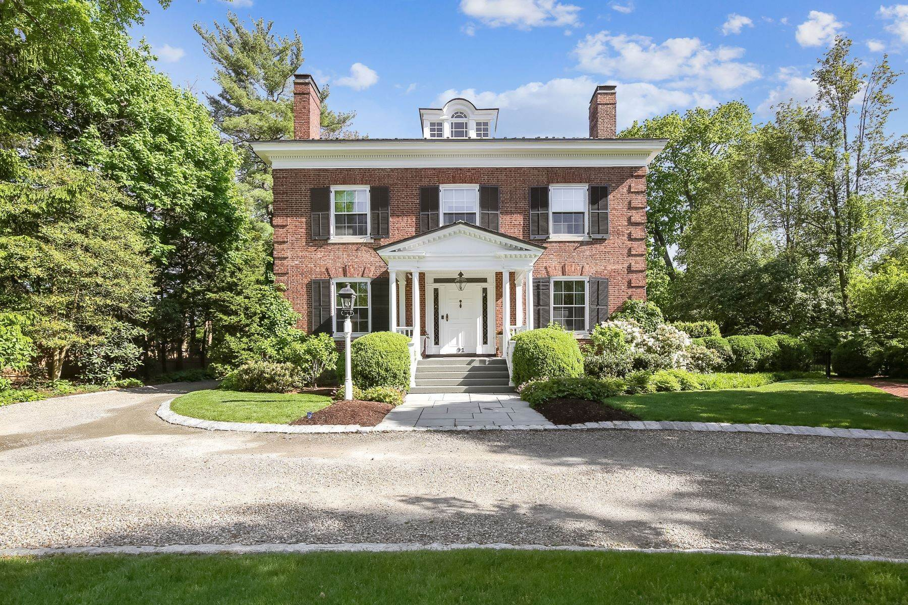 Single Family Homes for Sale at Georgian Revival 91 Prospect Street Summit, New Jersey 07901 United States