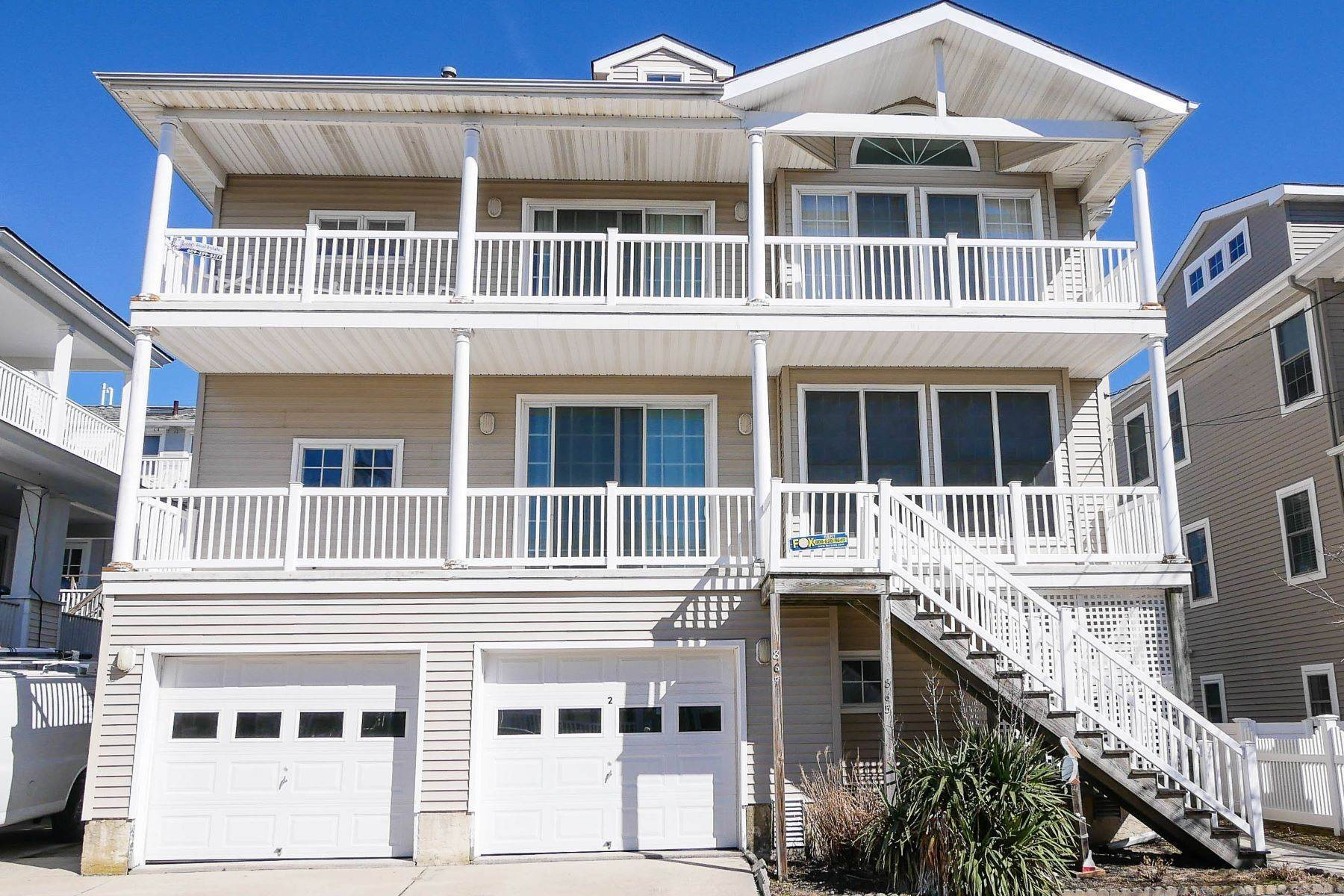 Condominiums for Sale at 867 3rd Street, Unit #2 Ocean City, New Jersey 08226 United States