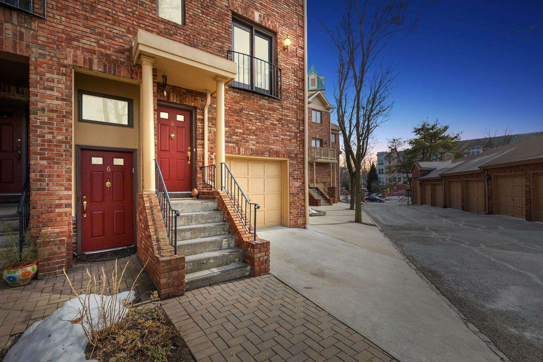 townhouses for Sale at Urban Suburban Vibe 6 Mews Lane South Orange, New Jersey 07079 United States