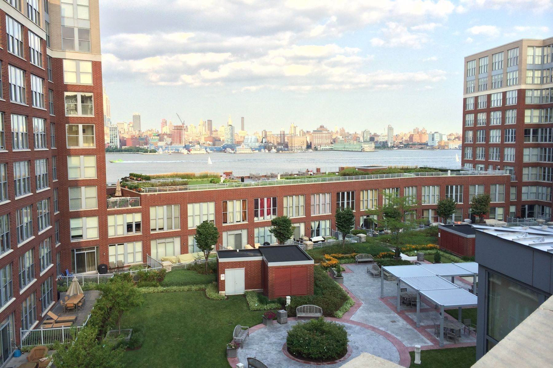 Condominiums at Hoboken's resort style waterfront community 1025 Maxwell Lane #508 Hoboken, New Jersey 07030 United States