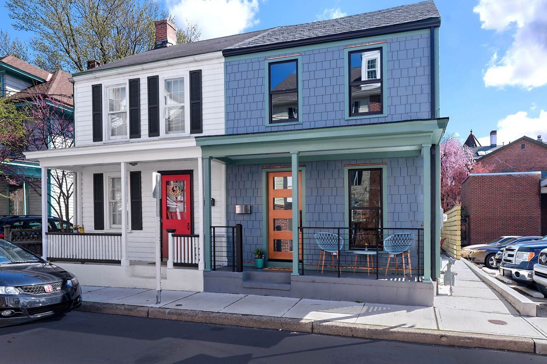 Single Family Homes for Sale at Looks and Feels Like New Construction 10 Clinton Street Lambertville, New Jersey 08530 United States