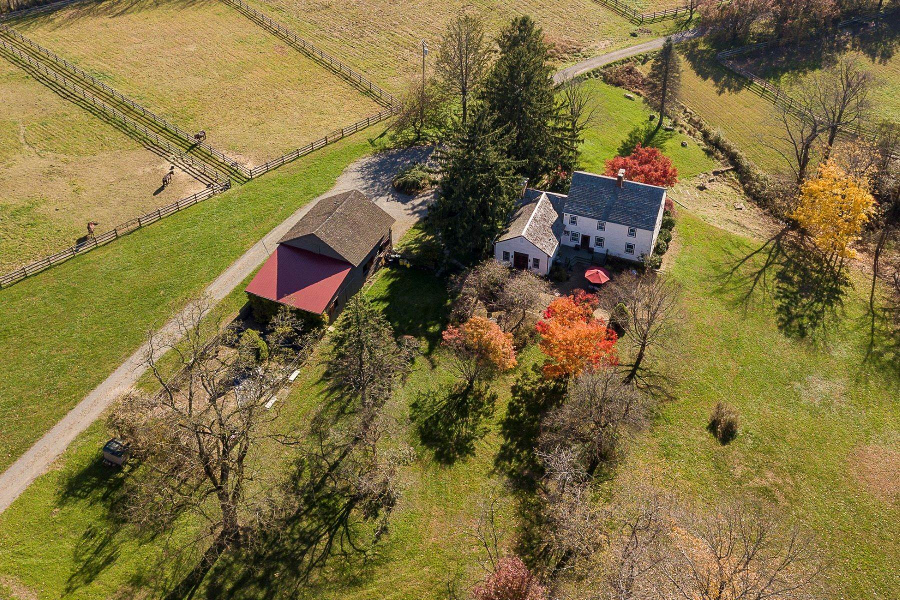 Farm and Ranch Properties for Sale at Longspring Farm: A Country Home Where Dreams Come True 172 Pleasant Valley Road Titusville, New Jersey 08560 United States
