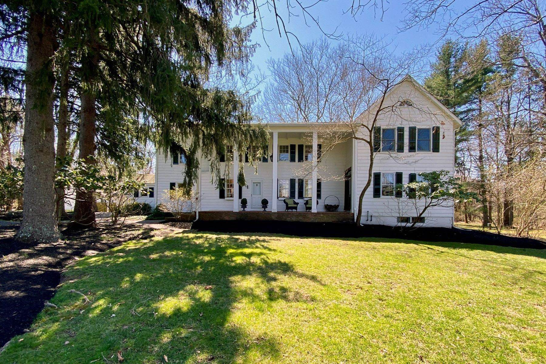 Single Family Homes for Sale at Prepare To Be Enchanted! 58 Titus Mill Road Pennington, New Jersey 08534 United States