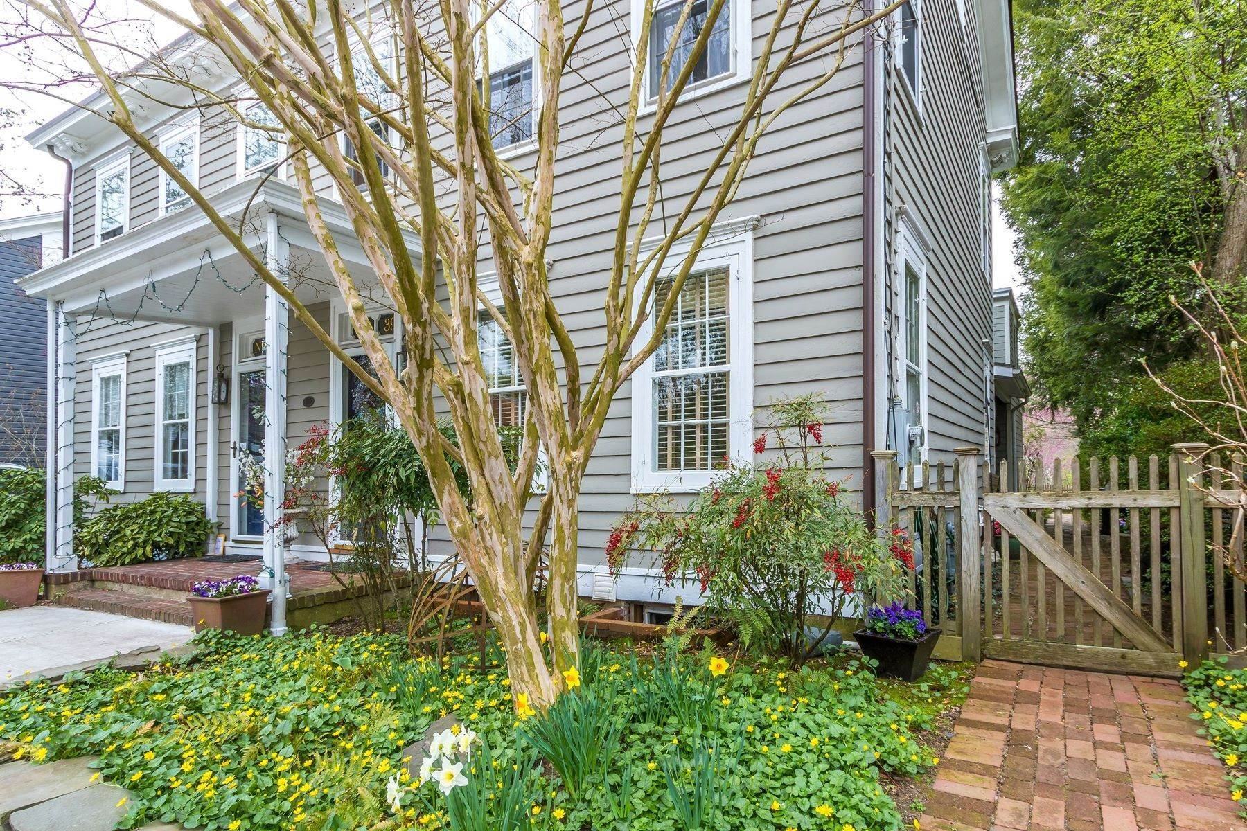 Single Family Homes for Sale at 39 Clinton Street, Lambertville, NJ 08530 39 Clinton Street Lambertville, New Jersey 08530 United States