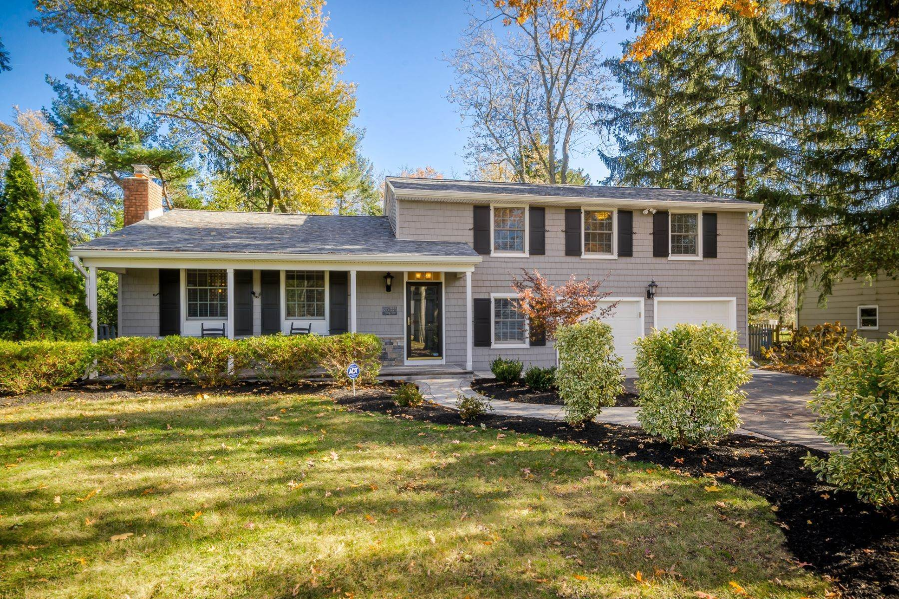 Single Family Homes for Sale at Completely Charming and Up-to-Date in Cranbury 16 Ryan Road Cranbury, New Jersey 08512 United States