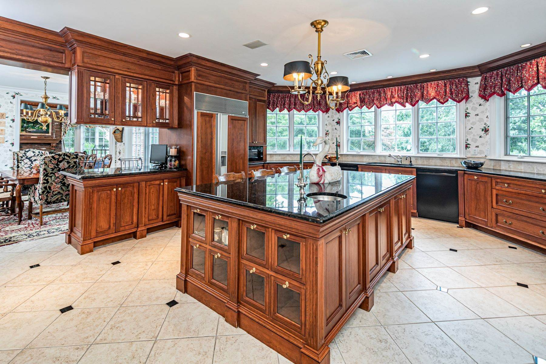 8. Single Family Homes for Sale at Private Compound with Every Amenity Imaginable 82 Aunt Molly Road Hopewell, New Jersey 08525 United States